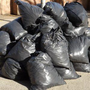 Bolsas con basura