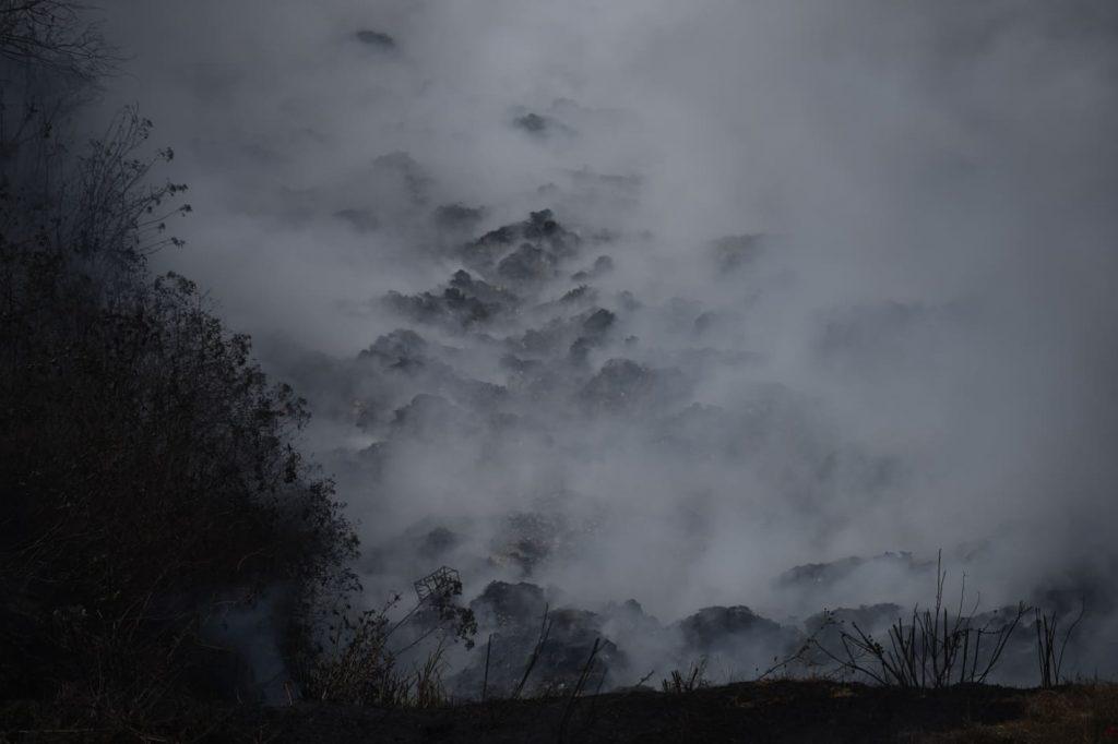 incendio vertedero Villa Nueva