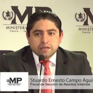 Fiscal Stuardo Campo.