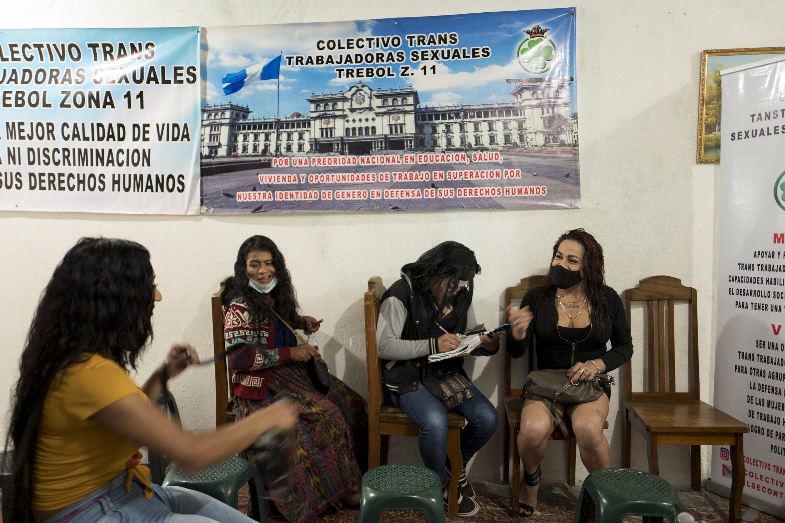 Reunion de junta directiva El Trébol Colectivo.