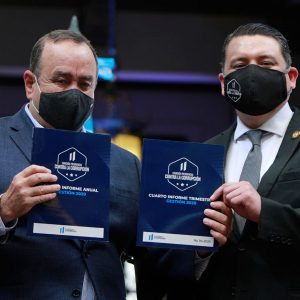Presentan el primer informe anual de la Comisión Presidencial contra la Corrupción