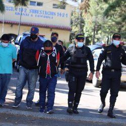 Presuntos saqueadores son capturados en zona 11