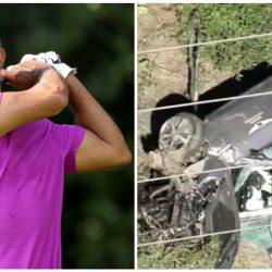 VIDEO. Tiger Woods va a cirugía tras sufrir accidente automovilístico