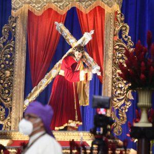 Velación de Jesús del Consuelo en primer domingo de Cuaresma 2021