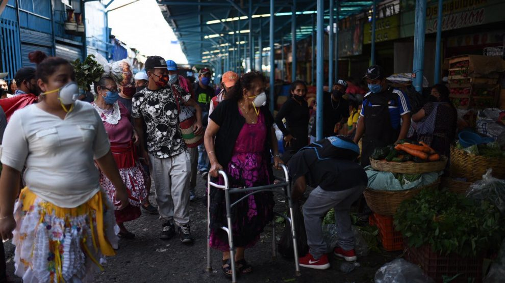 Pandemia causada por el COVID-19 en Guatemala.