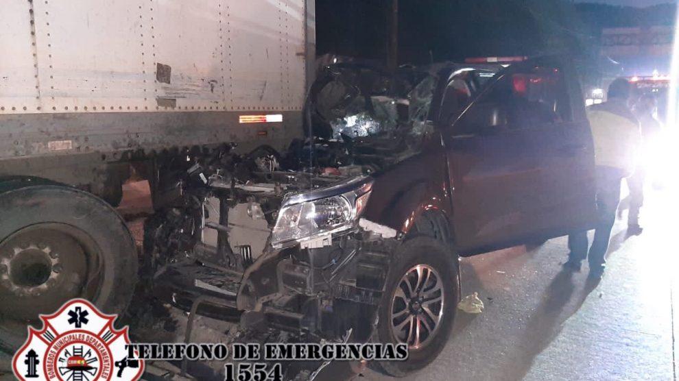 Muere agente de seguridad del MP en accidente de tránsito.