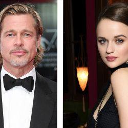 Captan a Brad Pitt y Joey King con sangre por las calles de Los Ángeles