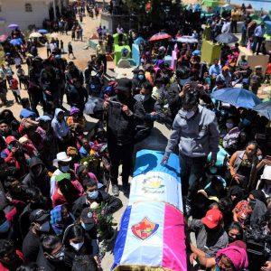 Familiares dan el último adiós a joven migrante asesinado en Tamaulipas