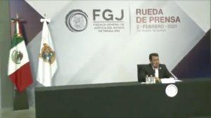 Irving Barrios Mojica, fiscal de Tamaulipas, habla de la masacre contra 19 migrantes.
