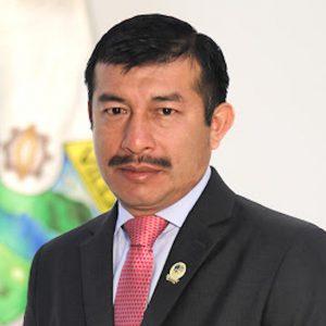 Julio Marroquín, alcalde de Villa Canales.