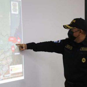 Policía Nacional Civil (PNC) presenta el plan de seguridad en Semana Santa 2021.