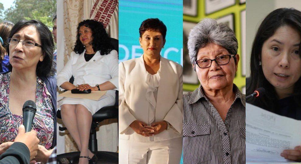 """Cinco guatemaltecas han sido elegidas para recibir el premio """"Mujeres de coraje""""."""