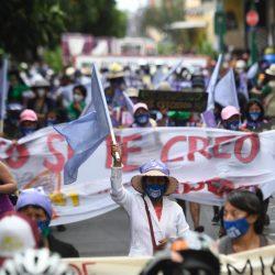 Mujeres demandan cese a la violencia de género previo al Día Internacional de la Mujer