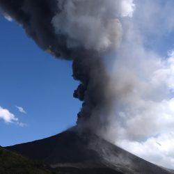 VIDEO. Actividad del volcán de Pacaya en tiempo real