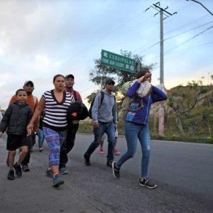 caravana migrantes migración Estados Unidos EEUU