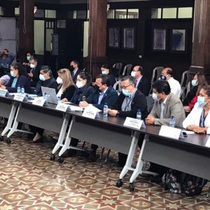 Reunión de la Comisión de Salud