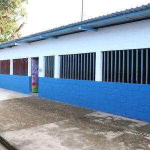Escuela pública en Guatemala