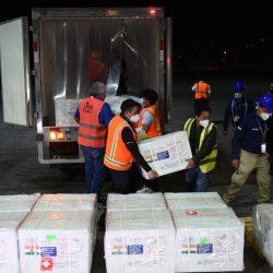 Llegan al país las vacunas contra el Covid-19 donadas por India