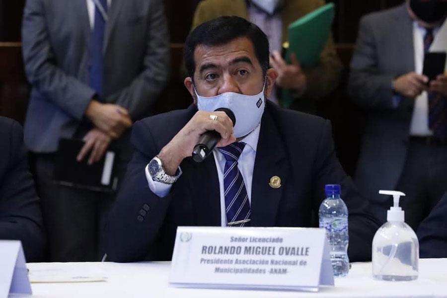 Miguel Ovalle, presidente de la ANAM