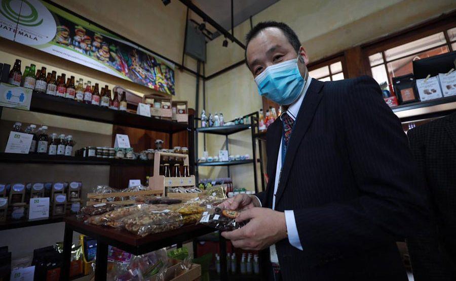 Naokata Yamaguchi, representante de JICA en proyecto que beneficiará a Mipymes
