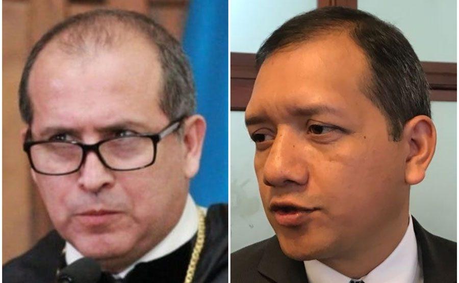Nester Vásquez y Francisco Rivas