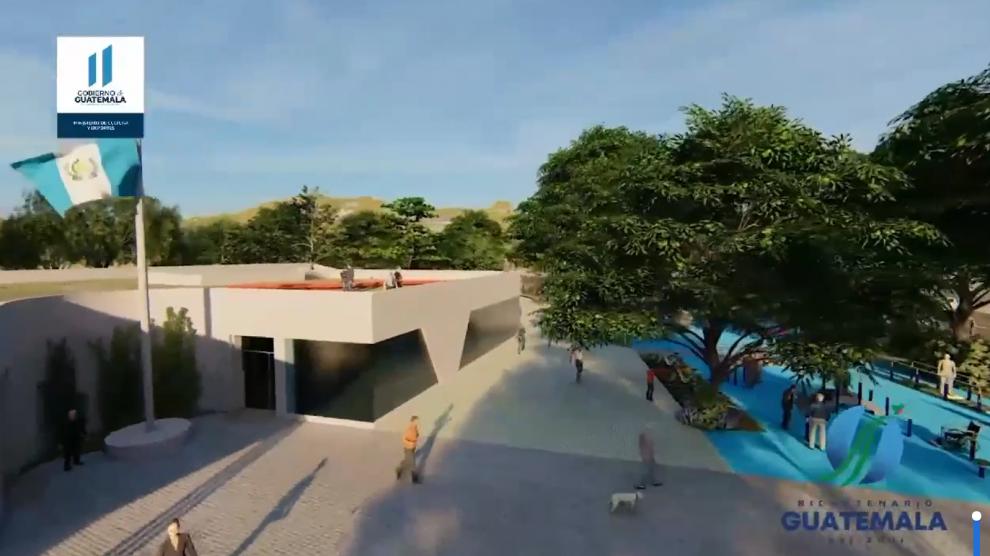 Avanzada gestión para construir el Parque Bicentenario en Quetzaltenango