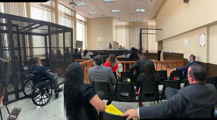 Audiencia de primera declaración de Murphy Paiz y Estuardo Gálvez