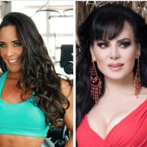 Rebeca Rubio y Maribel Guardia