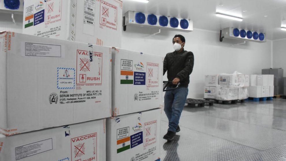 Así serán distribuidas las vacunas contra Covid-19 donadas por India