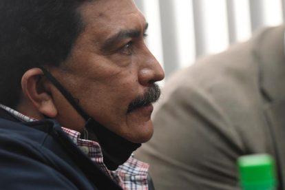 Abogado Francisco García Gudiel, conocida personalidad en el sistema de justicia guatemalteco.