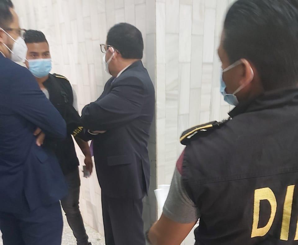 Exdiputado Carlos Enrique López Girón capturado en Tribunales