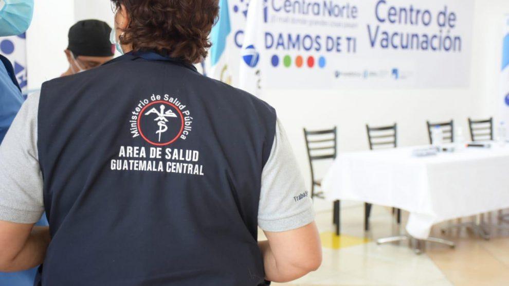 Centro de vacunación contra el COVID-19 ubicado en el centro comercial Centra Norte.