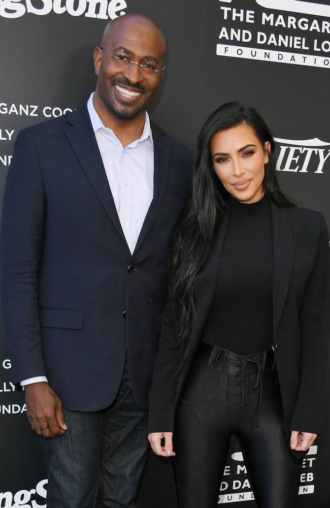 Kim Kardashian Van Jones