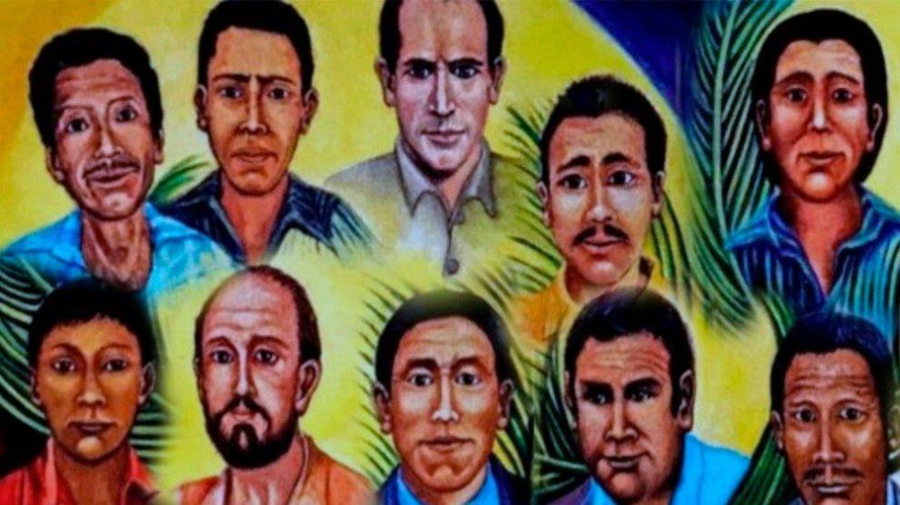 Los mártires de Quiché.