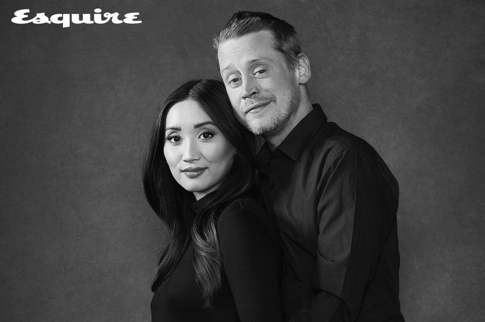 Macaulay Culkin y Brenda Song