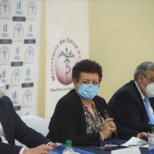 Ministra de Salud Amelia Flores guatemala pandemia covid-19 coronavirus
