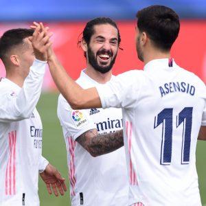 El Madrid se impone al Eibar