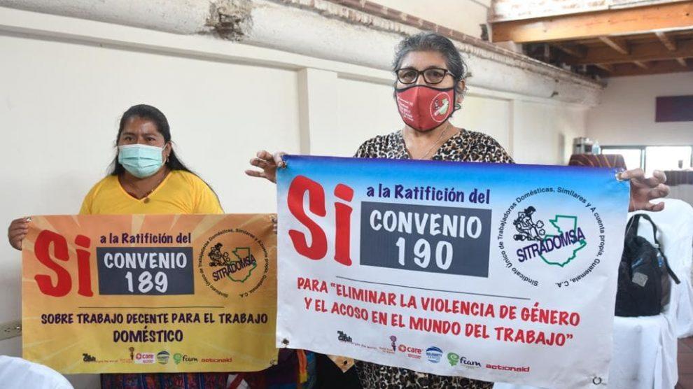 Varias trabajadoras domésticas resultaron infectadas de COVID-19 por sus patrones, durante la pandemia.