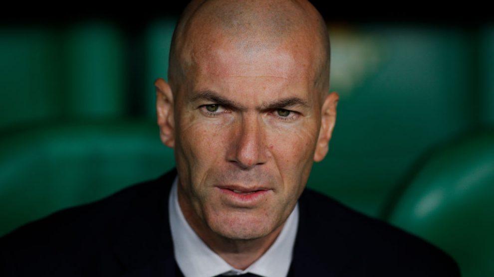 Zinedine Zidane se refiere a la lesión de Sergio Ramos