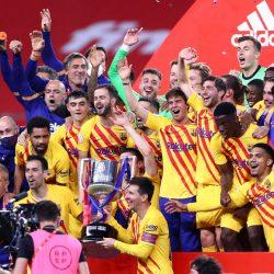 Barcelona golea y se consagra como campeón de la Copa del Rey