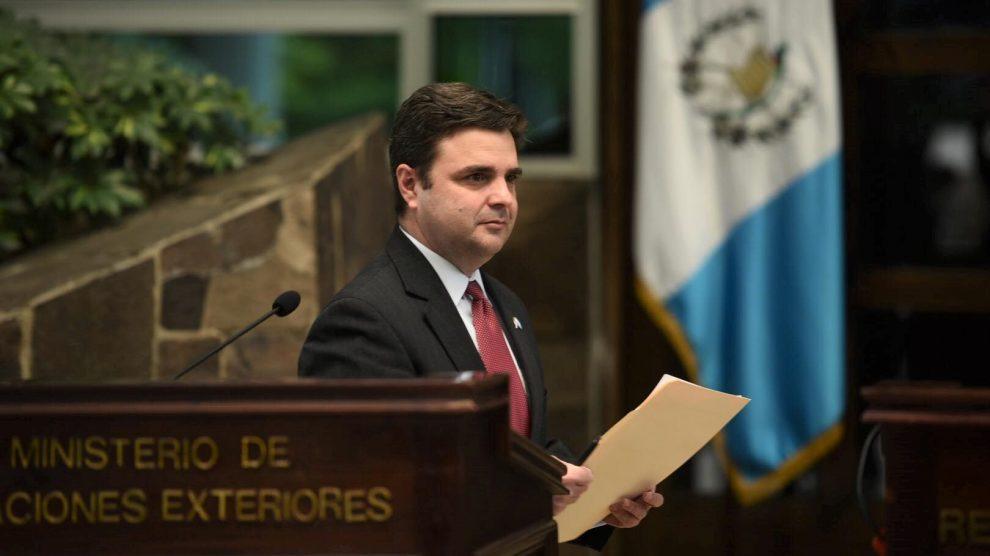 Ricardo Zúñiga, enviado de EE. UU. para el triángulo norte de Centroamérica.