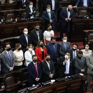 Diputados de la bancada oficialista en el Congreso