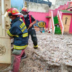 Lluvias causan destrozos en Totonicapán; una persona muere