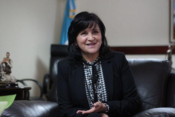 La magistrada Gloria Porras no fue juramentada para un nuevo período ante la Corte de Constitucionalidad (CC).