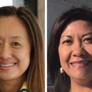 Julie Chung y Norma Torres
