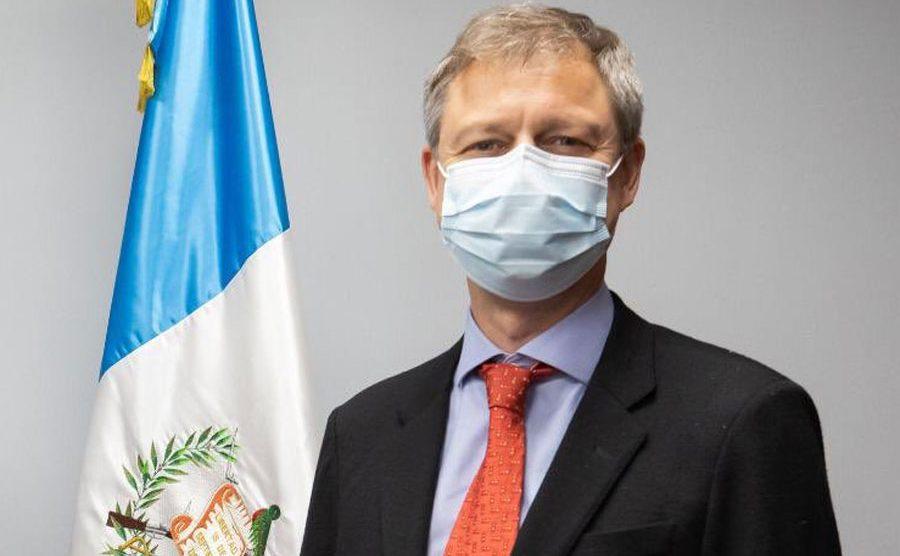 Nick Whittingham, embajador de Reino Unido en Guatemala