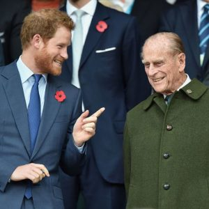 príncipe Harry príncipe Felipe
