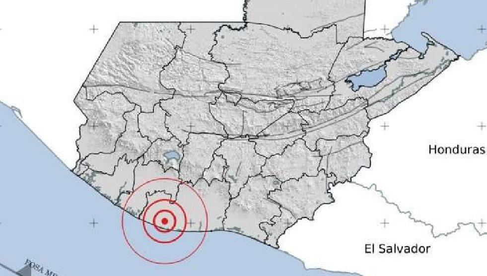 Temblor en Guatemala, 13 de abril de 2021
