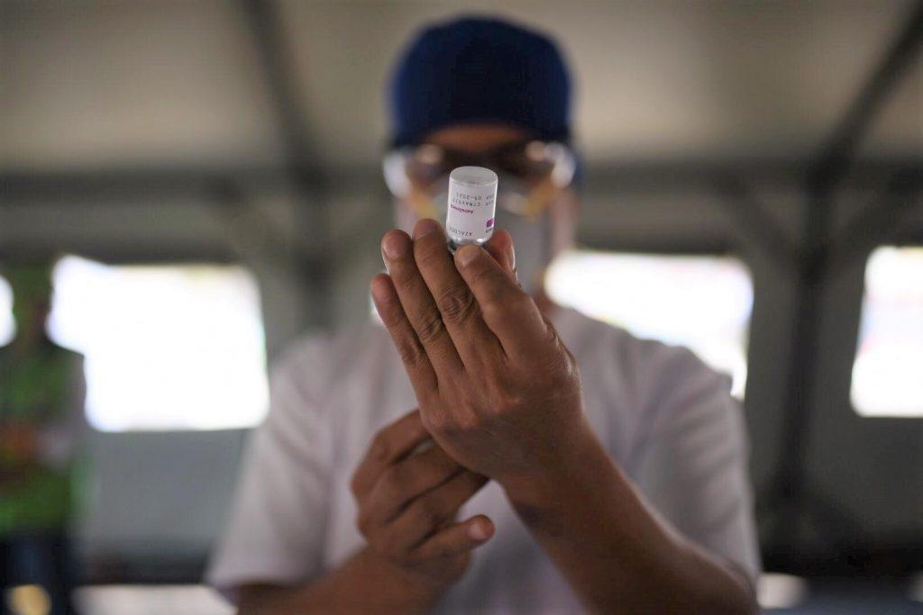 Vacunación contra el COVID-19 en Guatemala.