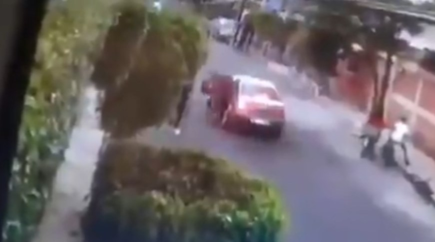 Ladrón asalta a dos niños en Valle de Chalco, en México